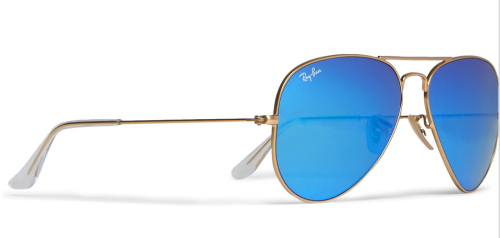 RAY-BANMETAL AVIATOR SUNGLASSES