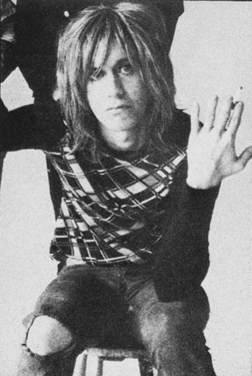 astralsilence:  Iggy Pop photographed by Peter Hujar, 1971.