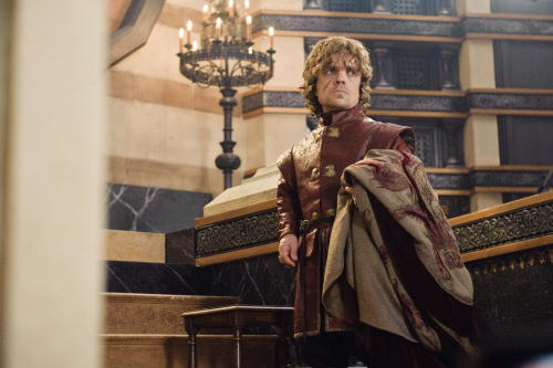 Peter Dinklage as Tyrion Lannister, S3E8.Second Sons