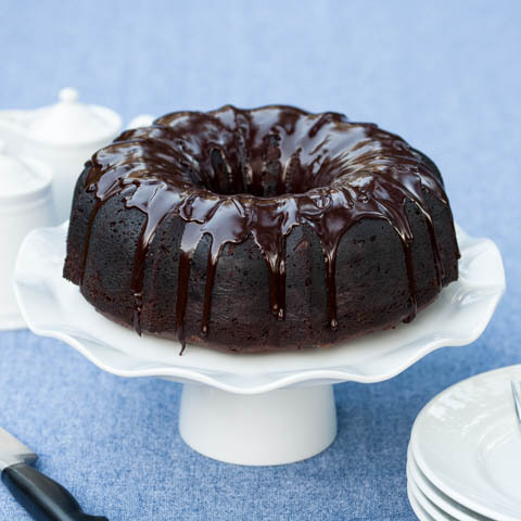 Kahlua Chocolate Cake delivers rich chocolate flavor with warm Kahlua undertones.