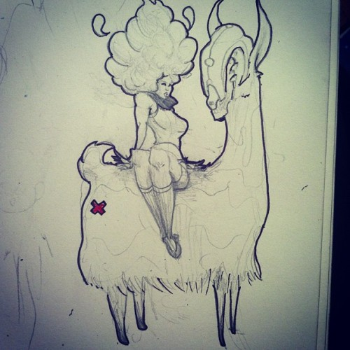 Wut #gutsu #sketch #sketchbook #drawing #pencils #pen #ink #illustration #girl #grind #juxtapoz #art #artists #artistsoninstagram #artistsontumblr #conceptart