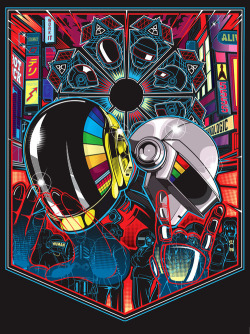 docawesome:  The 21st cannot come fast enough sleepypsychedelia:  Daft Punk