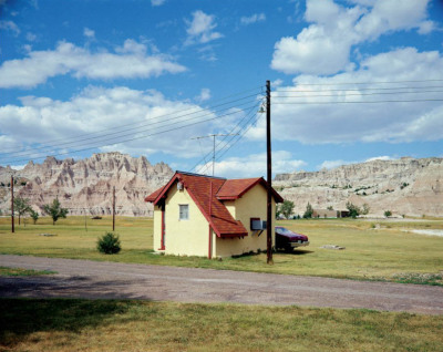 wandrlust:  Badlands National Monument, South Dakota, July 14, 1973 — Stephen Shore