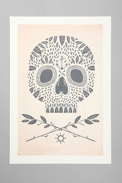 visualgraphic:  Leaf Skull