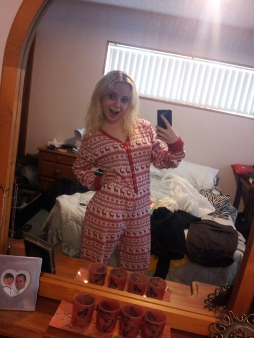 My new Christmas onesie, holla @ me