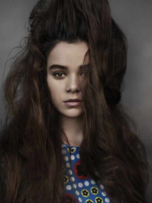 edenliaothewomb:  Hailee Steinfeld, photographed by Josh Olins for V Magazine, Spring 2013.    Ugly Is the New Pretty: How Unattractive Selfies Took Over the Internet - The Cut
