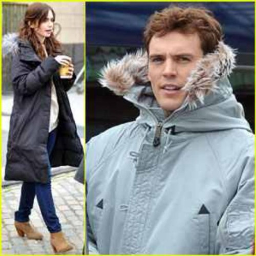 themortalinstitute:  Lily Collins and Sam Claflin on the Ireland set of their film Love, Rosie. The look pretty adorable together on set, so we hear. Can't wait for more news on the film. #LilyCollins #SamClaflin #shadowhunters #LoveRosie