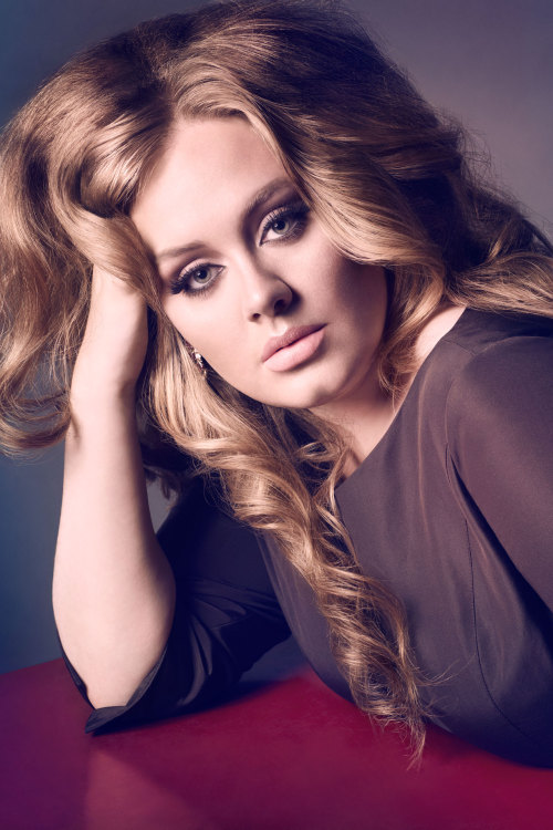 Oscar nominee Adele in the October 2011 issue of Vogue - photographed by Sølve Sundsbø.