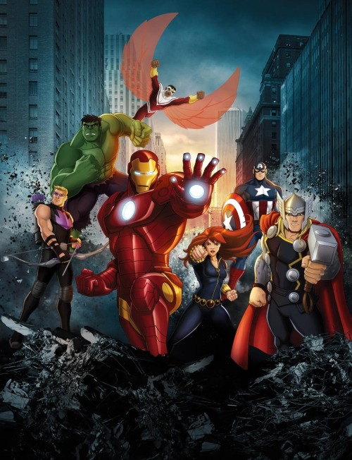 dragonklaw82:  After watching the first episode of Avengers Assemble, I'm fairly certain the show was conceived of by a think tank of Stony shippers.