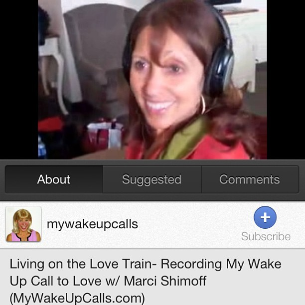 Want miracles? Forgive.  Enjoy this behind the scenes look at Marci Shimoff recording My Wake UP Call to Love Motivational Alarm Clock® Messages. Marci is the #1 NY Times best-selling author of six Chicken Soup for the Soul books, and Happy for No Reason and Love for No Reason, and is a featured teacher in blockbuster sensation, The Secret. http://youtu.be/x-15AVUGJKQ