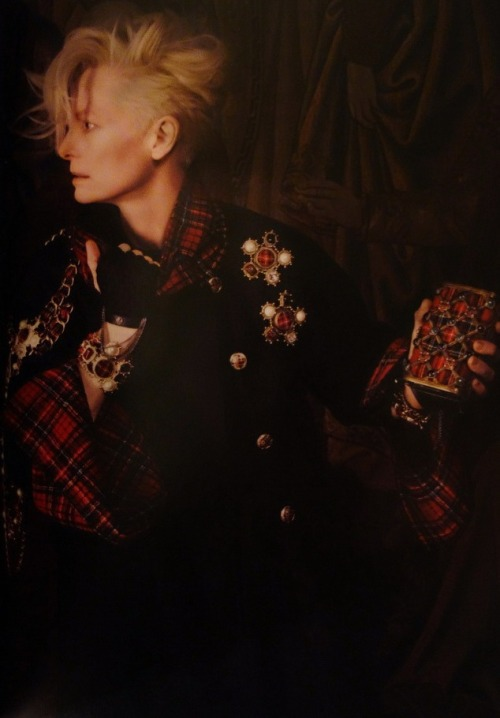 carmidoll:  Tilda Swinton for Chanel Paris-Edimbourg 2013