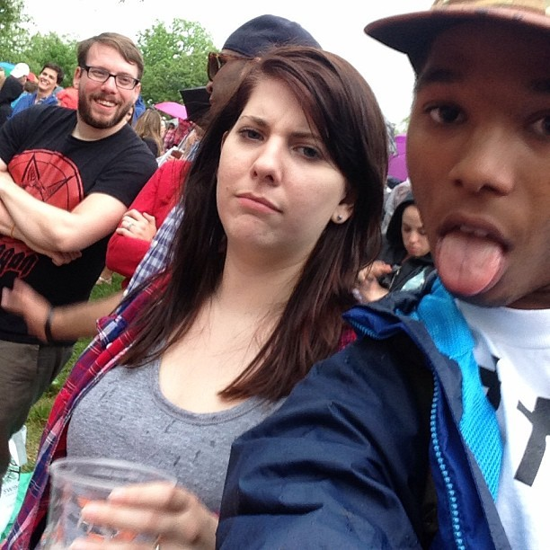 this was the ONLY person who asked me to delete their photo at #sweetlife
