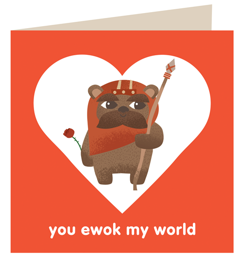 For your Star Wars fan in your life… cards now available at my shop.