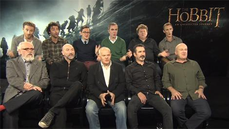 Learn how to be a Hobbit Dwarf Watch our video masterclass with Peter Jackson's company of Dwarves