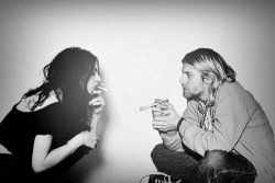 kazak666:  Kurt Cobain And Frances Bean Cobain