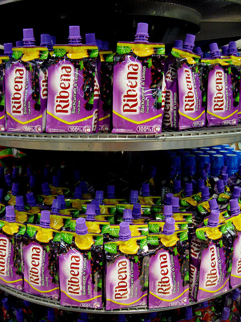 "04:25:365 - RIBENA! on Flickr.Via Flickr: I love Ribena. We FINALLY have Ribena stocked in our shelves. It's glorious. <3 But I will still associate Ribena to Singapore because of this episode of Phua Chu Kang where Rosie gave Margaret her ""blood"", well, Ribena. XD"