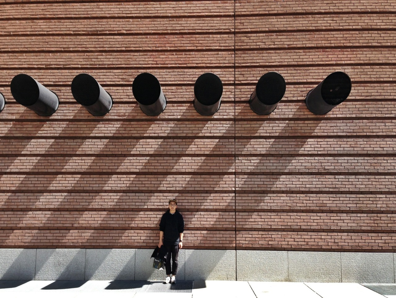 Daniel outside of SFMoMA