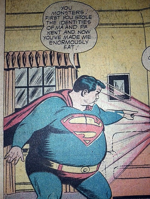 mudwerks:  (via Mike Lynch Cartoons: Fat Superman)