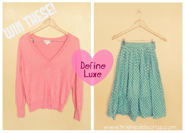 GIVEAWAY ALERT! Courtesy of my lovely sponsor Define Luxe ( Define Luxe) :) Join at www.trishiedelacruz.com