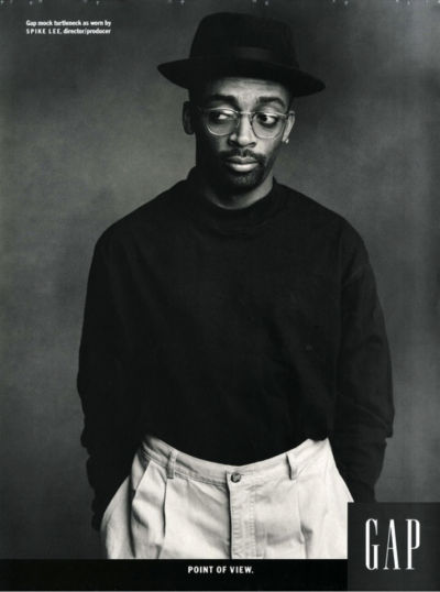"""Gap mock turtleneck as worn by Spike Lee"""