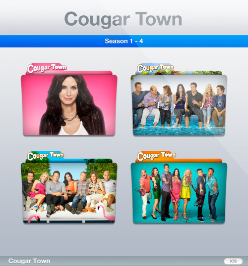 iconshow:  Latest pack: Cougar Townhttp://iconshow.deviantart.com/art/Cougar-Town-Premium-TV-Folders-314850433