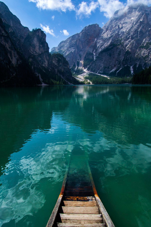 infinite-paradox:  Braies - Italy by Gaia Mataloni | (Website)