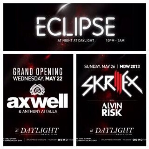 Who wants to with poolside with Axwell and Skrillex this MDW? I still got tickets for both.