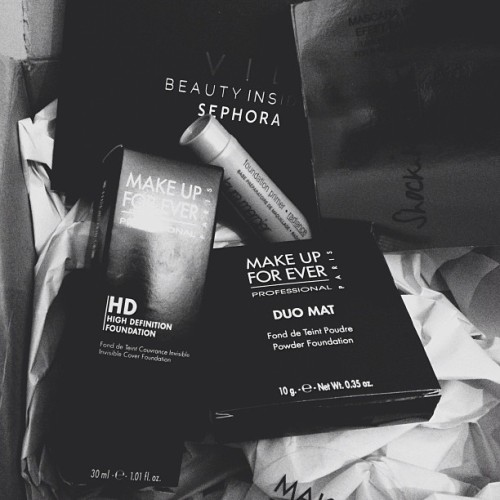 Sephora packages are my fave thing ever
