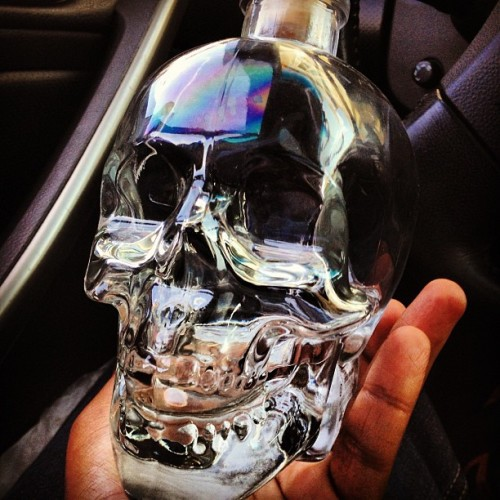 Drink from the crystal head maybe it'll tell you the future