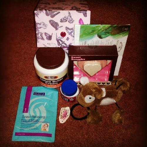 dontwanttobeanorexic:    dontwanttobeanorexic:    My Recovery Care Package Giveaway! I know I've been promising this for ages and it might be a bit of anticlimax but I can't afford a really extravagant giveaway so I hope you can all appreciate my intentions :) In the package: Cocoa butter cream, for fading self-harm scars. A butterfly tattoo, to use in a similar way to The Butterfly Project. A non-metal hair elastic. When I was in hospital, I would use this in place of cutting by snapping the band against my skin - it gave some release without actually harming myself. Nail dip usually used to prevent nail biting, but it's incredibly useful for stopping purging if you use it. A teddy, just for comfort. A de-stress facemask. A set of bath bombs, to treat yourself and give yourself a pampering. A small canvas to paint on when you're in need of distraction.  (Not pictured) A set of dot stickers, similar to the ones I use, that you stick around the house and when you see an item with a sticker, you pay yourself a compliment until it becomes a natural habit. (Not pictured) A few health bars, like Nakd or Trek. (Not pictured) A box of Yogi tea of your choice. (The box insn't included because I realised it raises postage price without having much practical use for recovery, so I'm sorry it's in the pic.) I've tried to make the tool kit unisex :-) I know this isn't anything cool like an iPhone or some cool clothes, but these things and the techniques you can learn from them really helped me in recovery and I hope they can do the same for you. These items aren't expensive, and they're available probably wherever you are, so if you don't win, but you can see how these items would help you, I urge you to buy a similar recovery tool kit :-) Enter dontwanttobeanorexic's Recovery Care Package Giveaway Closes July 10th, so get entering!    You have a higher chance of winning the more points you gain, so the best thing to do would be to donate £5 to Beat throughhttps://www.justgiving.com/Kasia-Dutch-Color-Run-for-Beat/ because that earns you 10 points and goes to a great cause :)    ENDS IN 50 DAYS! Remember to follow all the instructions on Rafflecopter. Likes do not count towards your entries.