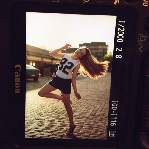 Straight from the camera. SO pumped about today's shoot! Such a great day :) @bethanyolson