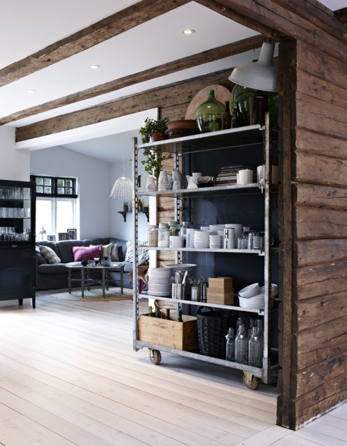 myidealhome:  perfect rustic and industrial fusion (via | pinterest)