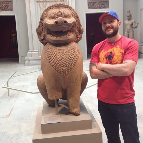 #met #nyc #shi-shi #gaurdian #lion #sculpture