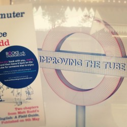 Think this says it all really. #booksontheunderground improving the tube