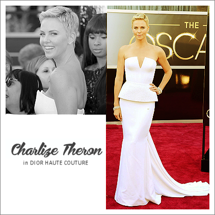 top 10 oscar dresses 10 | charlize theron in christian dior haute couture
