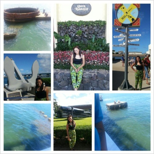 Today at Pearl Harbor. #Honolulu #Hawaii #PearlHarbor #mygrandfatherfoughtinthiswar