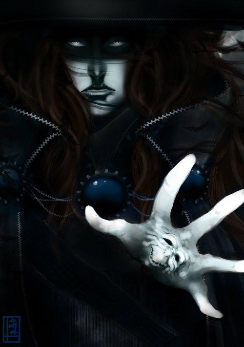 "fyvampirehunterd:  ""Vampire Hunter D - No-Aengel Commission"" by MissOliviaLee"
