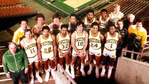 Seattle SuperSonics - 1979 NBA Championship