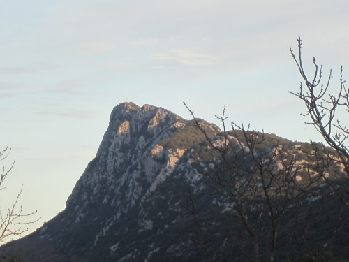 Great hiking day to the Pic Saint-Loup (Montpellier area, France). December 15th, 2012.