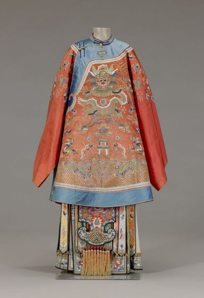 aleyma:  Bridal coat, made in China, c.1870 (source).