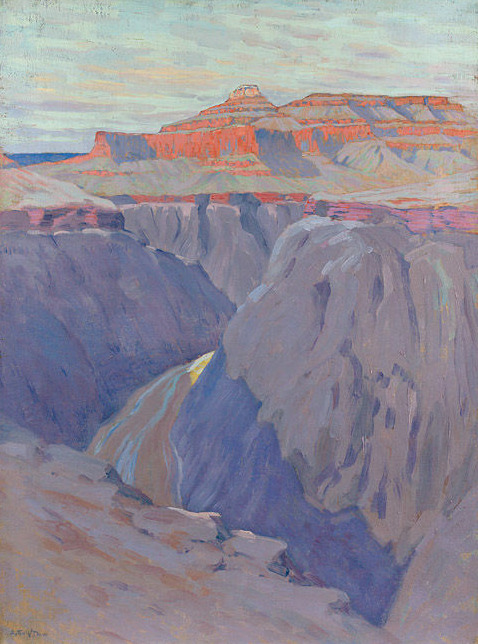 Arthur Wesley Dow (1857-1922) The Destroyer, ca. 1911-13 Oil on canvas, 40 x 30 inches