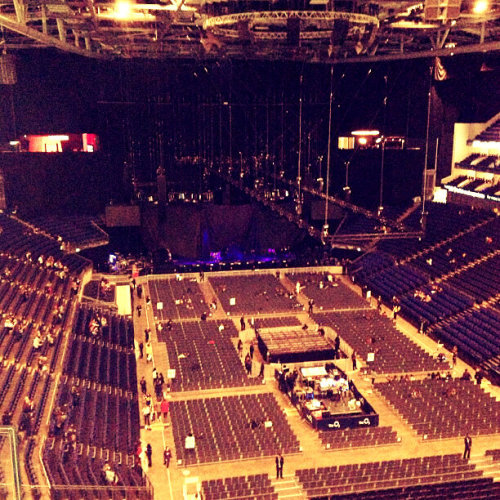 1dupdatesandnews:  The arena right now. x