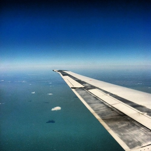 .take time to travel. #travel #AA #ocean #planes #freedom #space