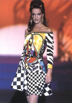 Karen for Versace, s/s 1992