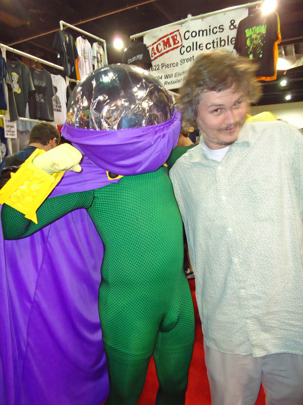 Cosplay fave of this past weekend's Megacon in Orlando. Me and Mysterio.
