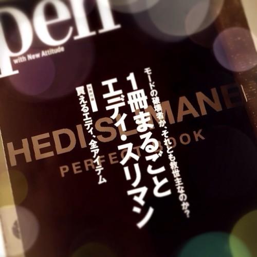 hedislimane サンローラン paris saintlaurent magazine エディスリマン pen books 雑誌