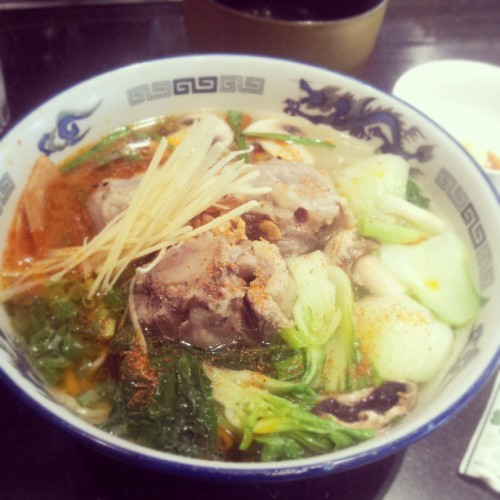 Ox tail ramen at #Ramen Nakamura, the #1 spot in #Waikiki #foodgasm #yum #foodcoma  (at Ramen Nakamura)