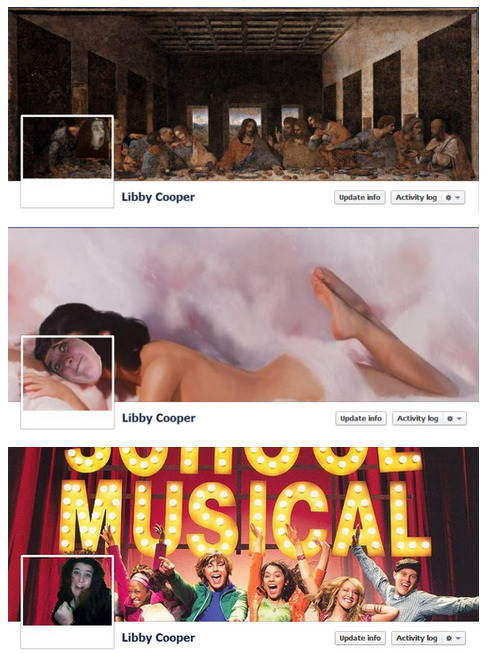 fuckyeahidiotonfacebook:  Libby Cooper may have a little too much time on her hands.