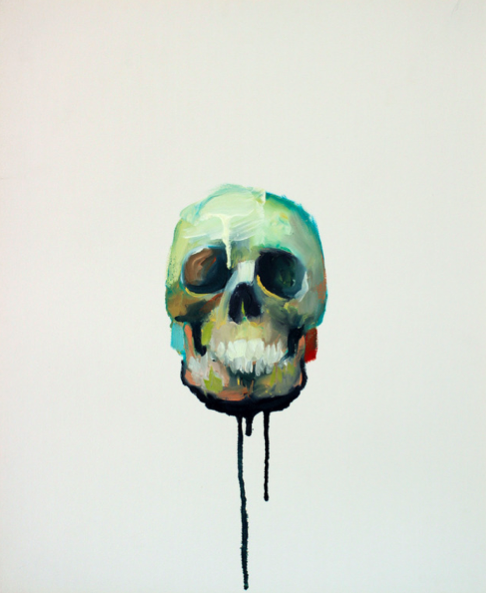ben-alors:  First sale on saatchi online ! Sweeeeet ! http://www.saatchionline.com/art/Painting-Oil-Untitled-5/402794/1511602/view#
