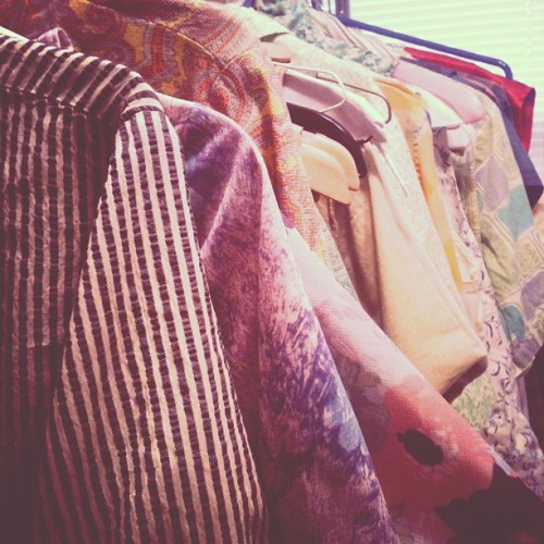All a grandmama's goodies. 💙 (at Runaround Sue Vintage)